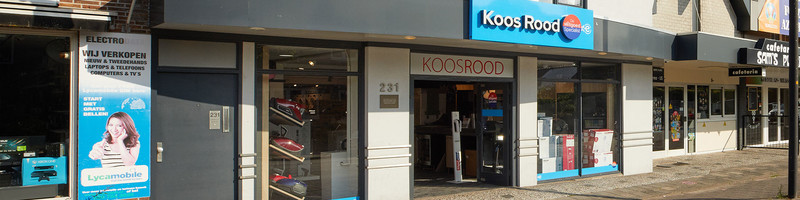 Koos Rood Dé Witgoed Specialist