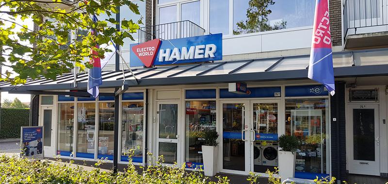 Electro World Hamer Witgoed